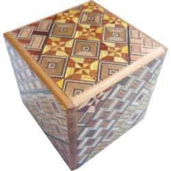 Boite 7 mouvements / 2 suns Cube
