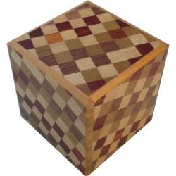 Boite 4 mouvements / 2 suns Cube Damiers